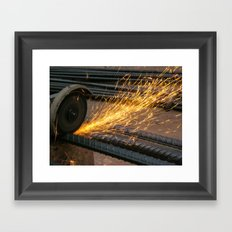 Like a Firework Framed Art Print