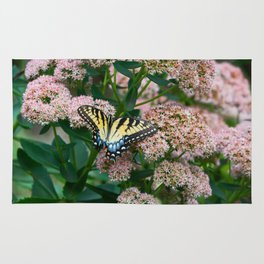 Eastern Tiger Swallowtail Butterfly Rug