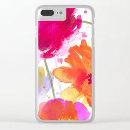 vive l'été! Clear iPhone Case