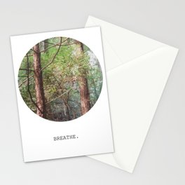 breathe. Stationery Cards