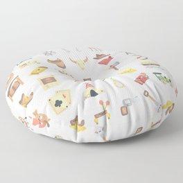 CUTE WILD WEST / COWBOY PATTERN Floor Pillow