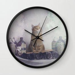 Ginger Spells Wall Clock