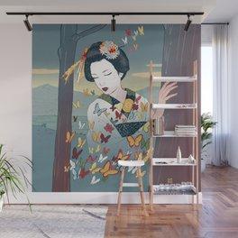Geisha Wall Mural