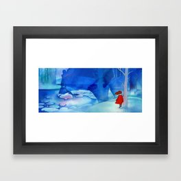 Silent Phantom Framed Art Print