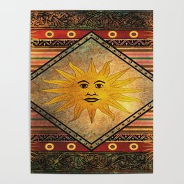 Vintage Midsummer Festival Poster