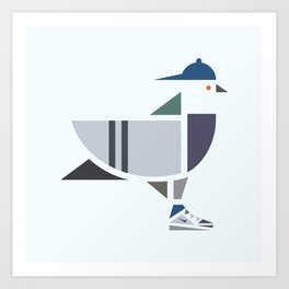 Sky High Flyer Art Print