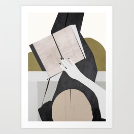The Reader Art Print