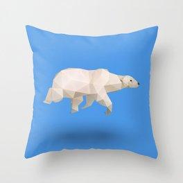 Polar Bear. Throw Pillow