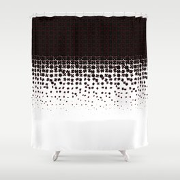 Be at Peace Not in Pieces Shower Curtain