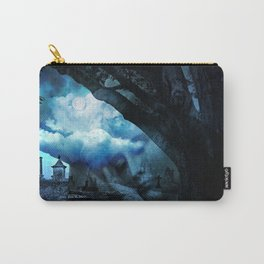She Sleeps By Annie Zeno Carry-All Pouch