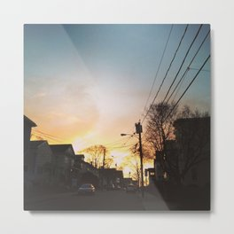 Somerville at sundown Metal Print