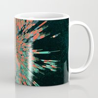 cyberpunk Mugs featuring Tread Lightly by Obvious Warrior