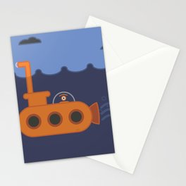 20 thousand leagues under the eye Stationery Cards