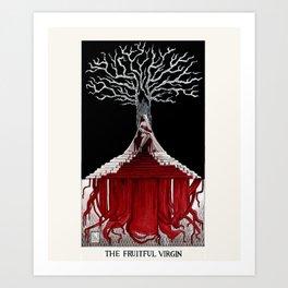 The Fruitful Virgin Art Print