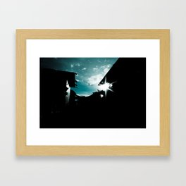 Blue in China Framed Art Print