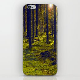 Green Forest #decor #society6 iPhone Skin