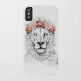 Festival lion iPhone Case