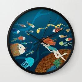 Fish conference Wall Clock