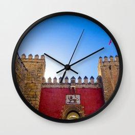 Seville Real Alcazar Wall Clock
