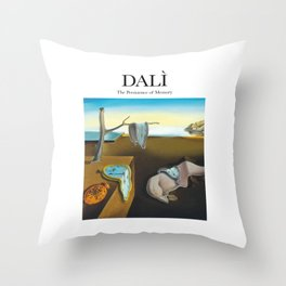 Dalì - The Persistence of Memory Throw Pillow