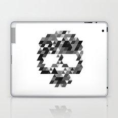 Skull bw w Laptop & iPad Skin