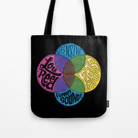 lou reed Tote Bags featuring Lou Reed, Farts by Chris Piascik