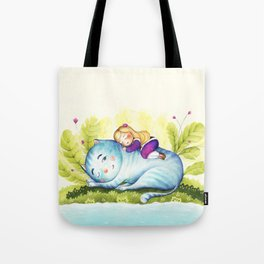 Where the Wild Girls are Tote Bag