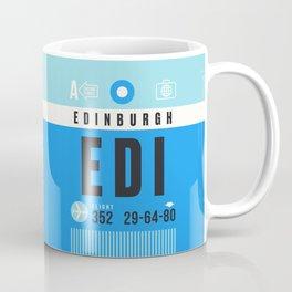 Luggage Tag A - EDI Edinburgh Scotland Coffee Mug
