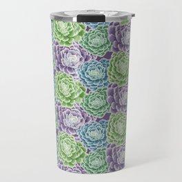 Pattern Succulent Travel Mug