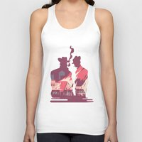 western Tank Tops featuring Western by kanakiki