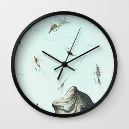 fish on Wall Clock