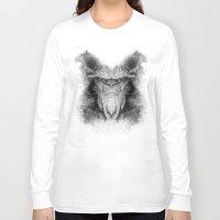 sasquatch Long Sleeve T-shirts featuring Sasquatch by Zandonai