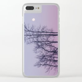 Winter comes to Sandbanks Clear iPhone Case