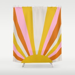 sunshine state of mind Shower Curtain