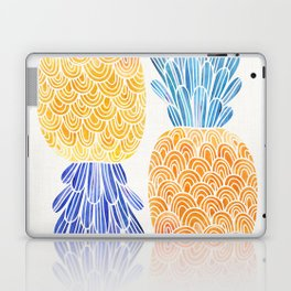 BFFs / Pineapple Watercolor Collage Laptop & iPad Skin