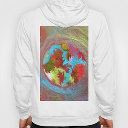 Abstract Mandala 244 Hoody