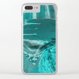 LEFT LANE. Clear iPhone Case