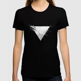 Abstract Triangle bw T-shirt
