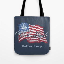 We the People Cannabis Print Tote Bag