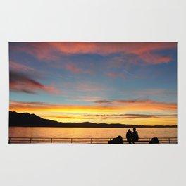 Tahoe Sunsets. Rug