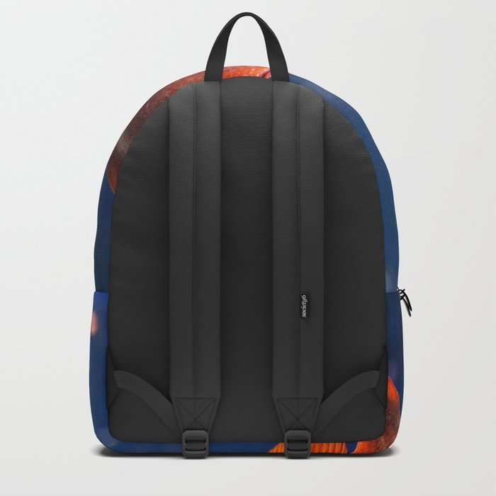 Red fish water Backpack