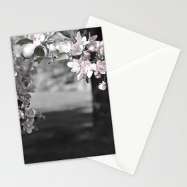 Crab Apple in Pink Stationery Cards