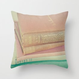 Book Lover Throw Pillow