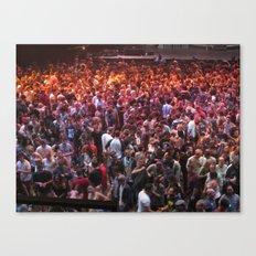 Crowds Canvas Print