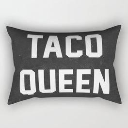 Taco Queen Rectangular Pillow