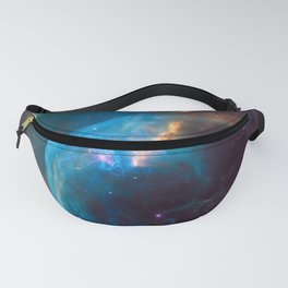 picture of star by Hubble: bubble nebula Fanny Pack