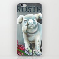 "haunted mansion iPhone & iPod Skins featuring Disneyland Haunted Mansion inspired ""Rosie""  by ArtisticAtrocities"