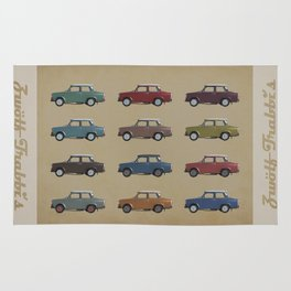 Five Trabants Rug