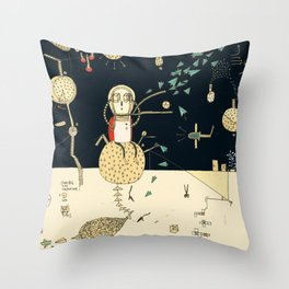"""You will not do incredible things without an incredible dream."" – John Eliot Throw Pillow"
