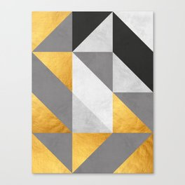 Gold Composition II Canvas Print